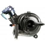 Repasované turbodmychadlo Audi A4 1.9 TDI 101 115 110 HP 74 84 85 81 kW 454231-1