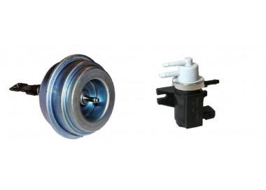Měnič  ventil tlaku turbodmychadla